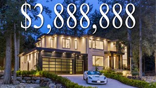 Inside a $3,888,888 Modern Contemporary Home in South Surrey | Luxury Mansions Vancouver