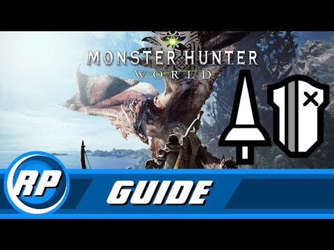 Monster Hunter World - Lance Progression...