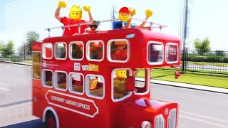 Max and Nikita wheels on the bus story for kids