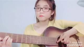 Để Cho Em Khóc (Vali Tình Yêu Ost) - Vy Oanh | Guitar Cover