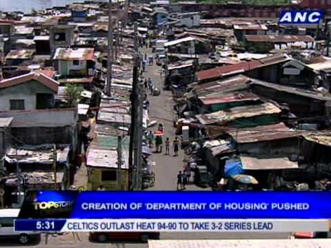 Creation of Department of Housing pushed