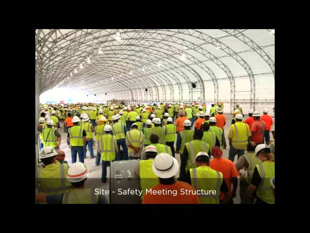 Construction Tent - Lunchroom Tents - Big Top Fabric Structures