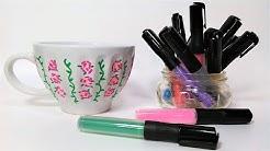 Acrylic Paint Pen Test on Ceramics {Will it work?}