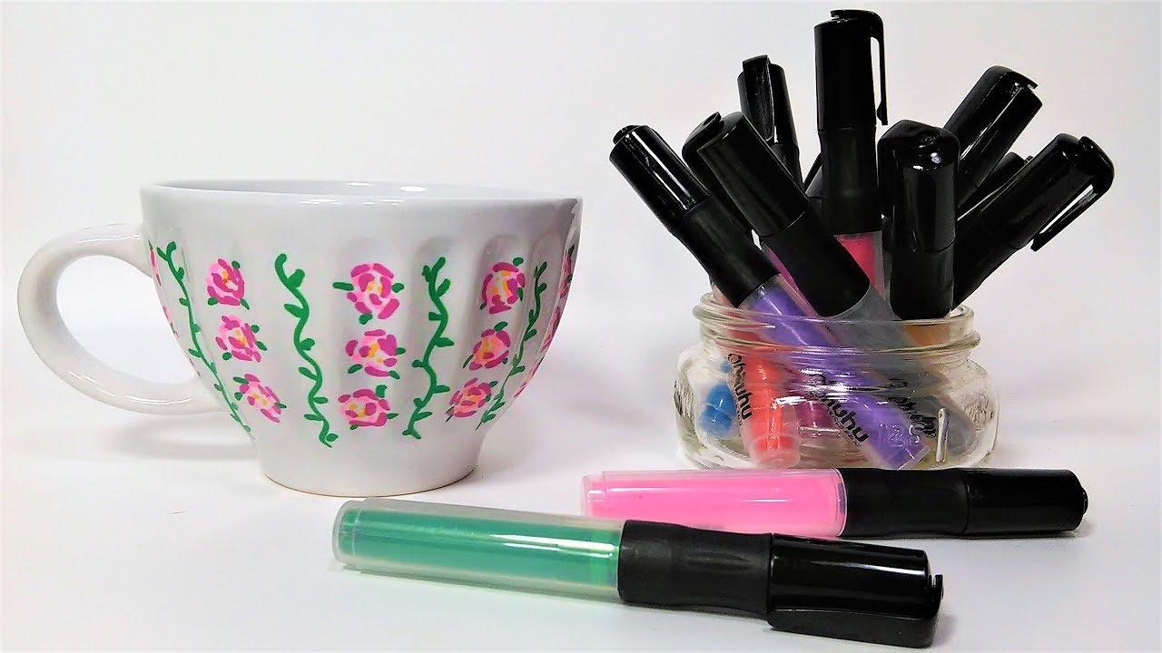 Acrylic Paint Pen Test On Ceramics Will It Work