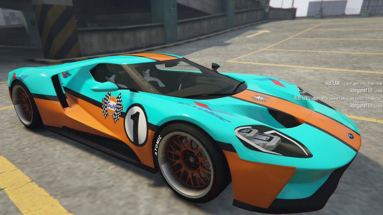 Ford Gt  Gulf Le Mans Sounds Insane Test Driving Gta  Vmp Coop Mods Youtube