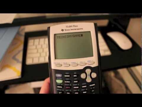 Tips, Tricks, And Settings to Ti 84+ Calculator