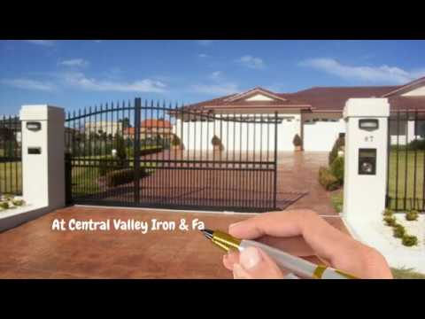 Central Valley Iron - We Create Artwork with Wrought Iron Gates