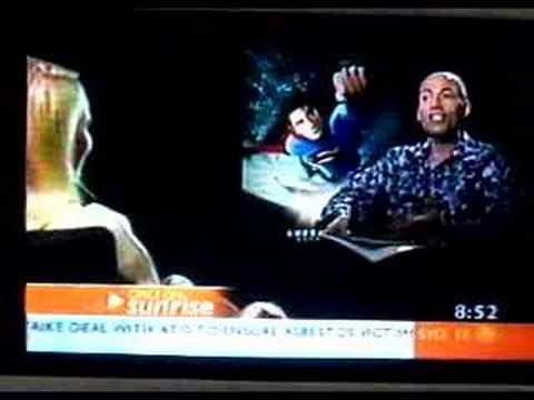 "Sunday Sunrise ""Superman Returns"" Interviews"
