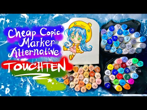 TOUCHTEN Markers Review| Cheap Copic Marker Alternative | SeamiArt | Philippines