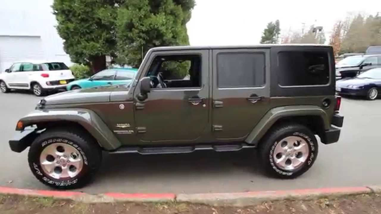2015 Jeep Wrangler Unlimited Sahara Tank Fl561003