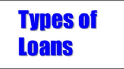 Types of Loan Accounts