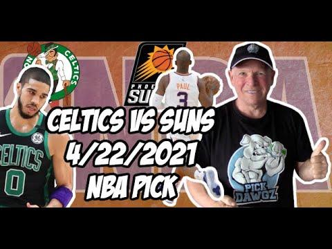 Boston Celtics vs Phoenix Suns 4/22/21 Free NBA Pick and Prediction NBA Betting Tips