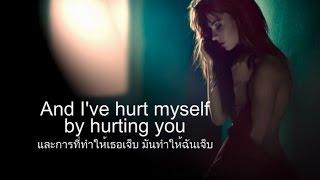 เพลงสากลแปลไทย #109#  Hurt - Christina Aguilera (Lyrics&Thaisub)