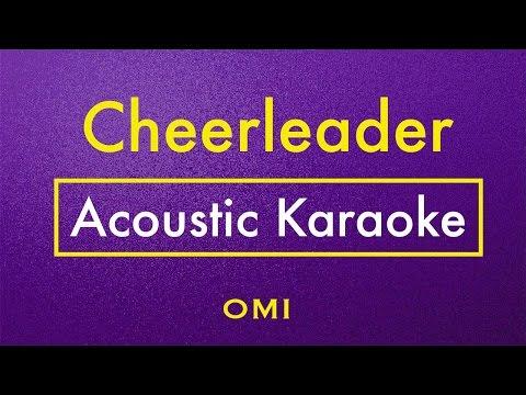 Cheerleader - OMI | Karaoke Lyrics (Acoustic Guitar Karaoke) Instrumental