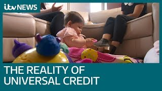 Mother of two describes impact of Universal Credit | ITV News