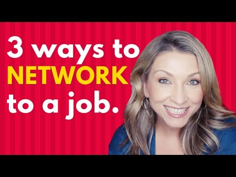 How to Network to Get a Job   Job Search Tips