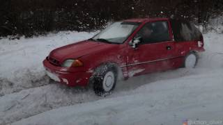Скачать Subaru Justy 4x4 Snow Fun