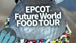 Disney World Food Tour: EVERY Food Spot in Epcot's Future World Pavilion!