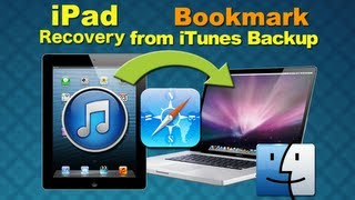 iOS 7 iPad Data Recovery: How to Restore Lost iPad Data (Bookmark, Photos..) after iOS 7 Upgrade