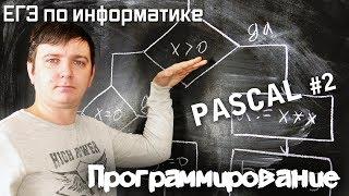 Программирование на Pascal. Условия (ветвление). Видеокурс
