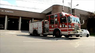MONTREAL FIRE TRUCK 280 RESPONDING FROM STATION 17