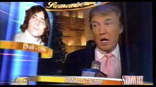 Donald Trump talking about John Lennon