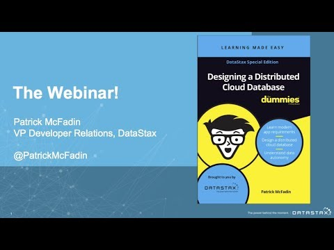 Designing a Distributed Cloud Database for Dummies | DataStax