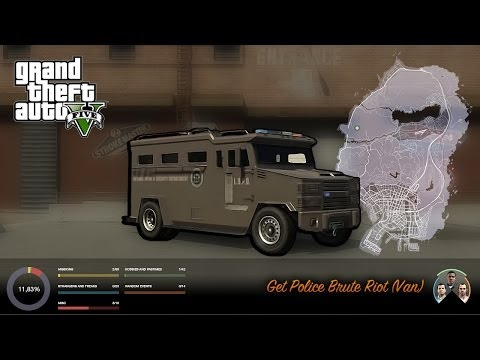Video - GTA V - How to get and store the Police Riot | GTA