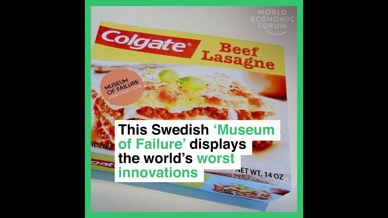 This Swedish 'Museum of Failure' displays the world's worst innovations