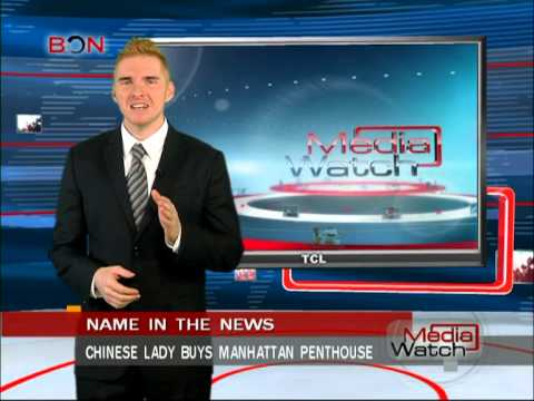 Chinese lady buys Manhattan penthouse - Media Watch - March 27,2013 - BONTV China