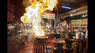 LARGEST CHINATOWN IN SOUTHEAST ASIA WITH AMAZING FOOD. BANGKOK, THAILAND