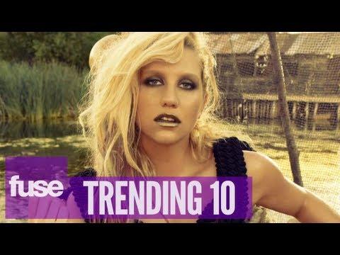 Ke$ha Responds to Perez Hilton Dis - Trending 10 (05/29/13)