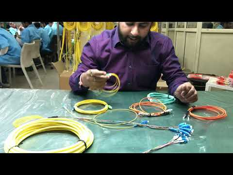 Fiber Optic Patch Cables 1800-200-6122##How to make a fiber optic patchcord?