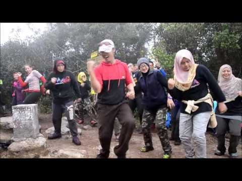 1st in Malaysia ZUMBA AT GUNUNG IRAU
