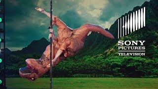 T-Rex On A Pole – The Gong Show