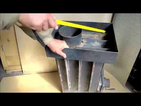 видео: Печь дровяная металлическая экономка hot master 1 / stove wood metal of hot master 1