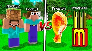 Minecraft NOOB VS PRO: TRY NOT TO LAUGH CHALLENGE in MINECRAFT! (W/ UnspeakableGaming)