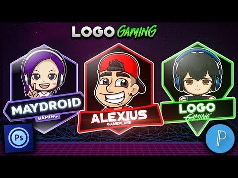 Como Crear Un Logo Gaming Desde Android/ Ps Touch & PixelLab//Alexius Tv