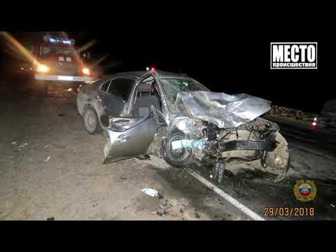 Приговор за смертельное ДТП в Яранском районе  Место происшествия 28 10 2019
