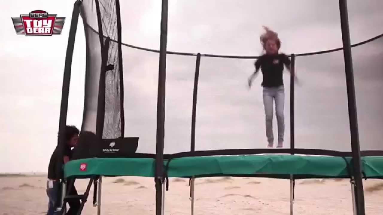 berg toy gear trampoline youtube. Black Bedroom Furniture Sets. Home Design Ideas