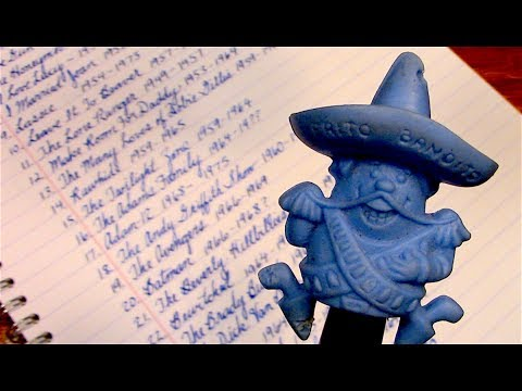 Writing a list of classic TV shows - ASMR Sleep Aid