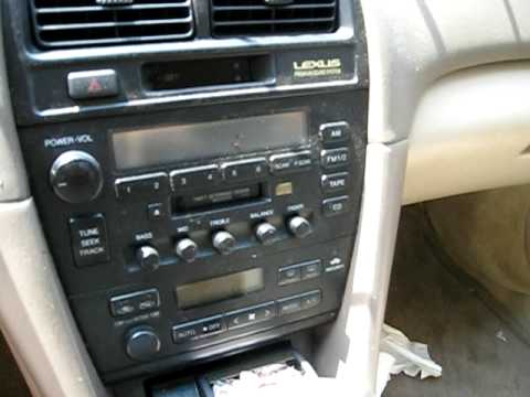 Parting Out 1998 Lexus Es300 090525 Youtube