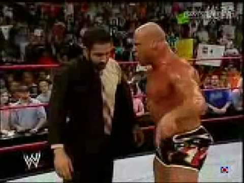 Hbk VS Angle... Daivari slaps Kurt Angle