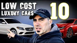 10 Best Cheap New Luxury Cars This Year!