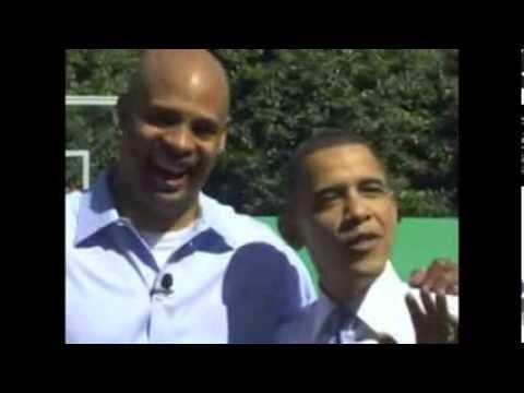Obama plays P-O-T-U-S with Clark Kellogg