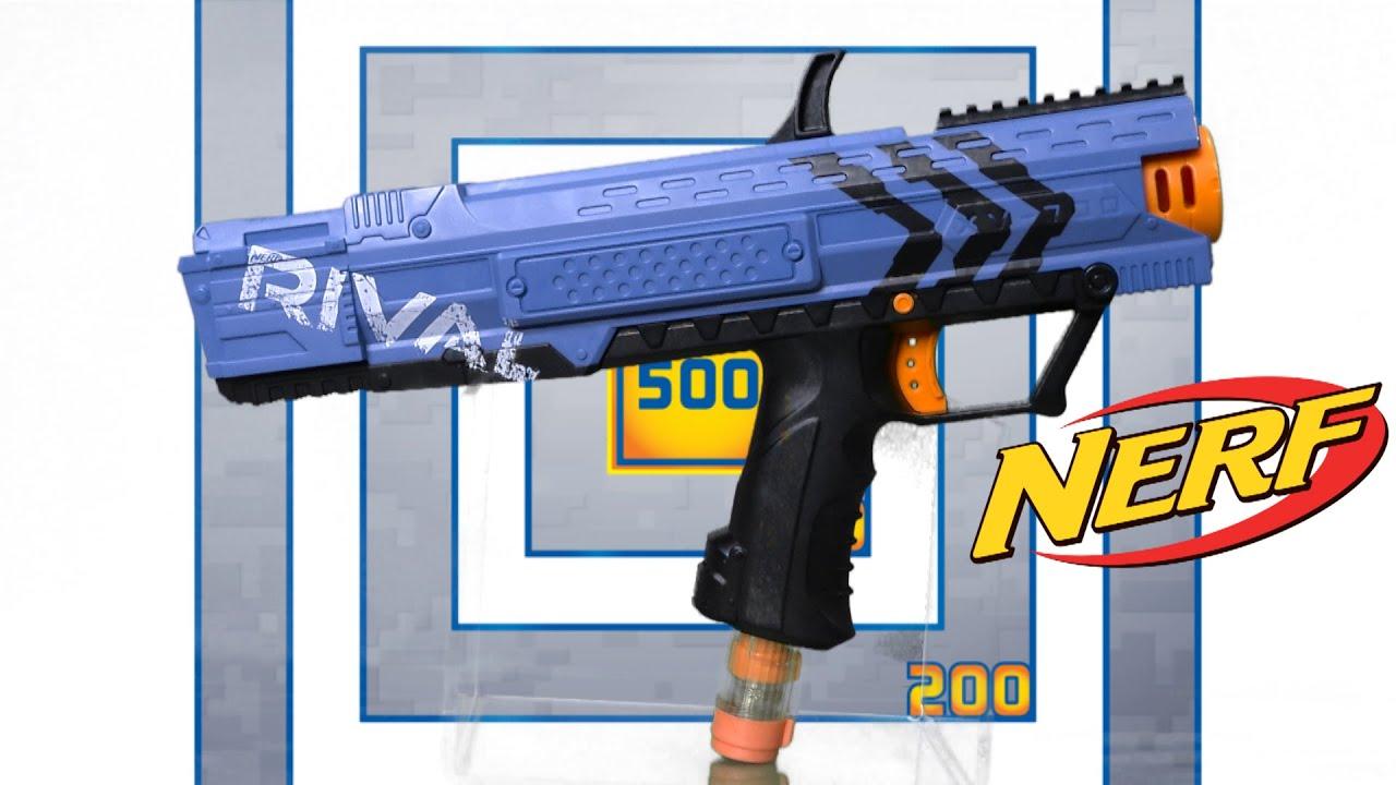 nerf rival apollo xv 700 blaster team blue from hasbro. Black Bedroom Furniture Sets. Home Design Ideas