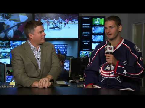 Brandon Saad and Gregory Campbell Press Conference (7/15/15)