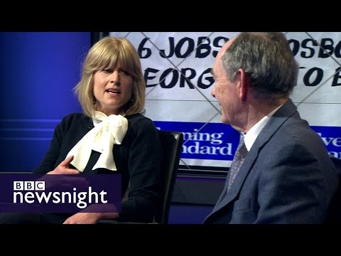 George Osborne's new job as Evening Standard editor: DEBATE - BBC Newsnight