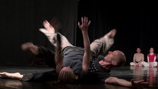 Teachers performance on International Contact Improvisation festival in Kiev, Ukraine, May 1-7.2014