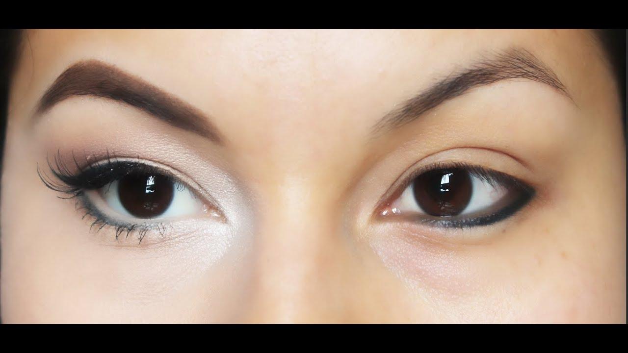 10 tips de maquillaje para hacer tus ojos m s grandes for Como se maquillan los ojos ahumados